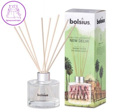 Bolsius Diffuser 100 ml New Delhi limited edition vonná stébla